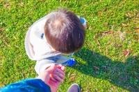 子供とお散歩